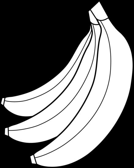 Banana clipart line drawing Outline Clip Download Art Outline