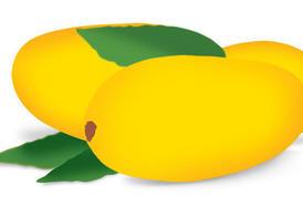 Banana clipart mango Free Vector Clip Mango Clip