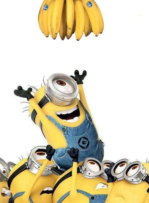 Banana clipart minion banana BANANAS on Dec Movie ray