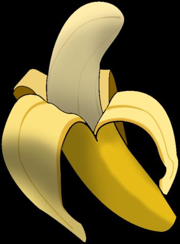 Banana clipart opened Banana Clipart Food Clip >