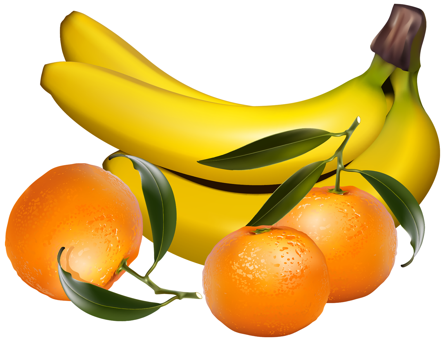 Banana clipart orange fruit And WEB PNG Best PNG