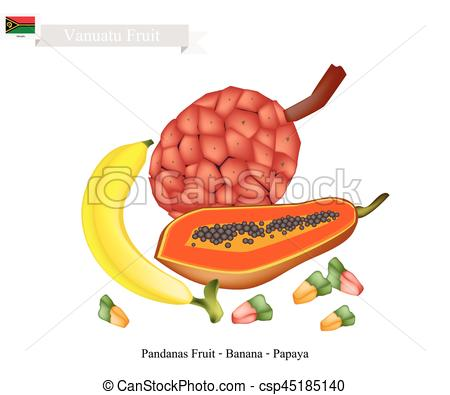 Banana clipart papaya Csp45185140 Fruit and Vanuatu Famous