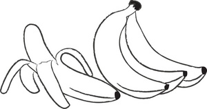 Banana clipart papaya Bunch Bananas Image: Image Bananas