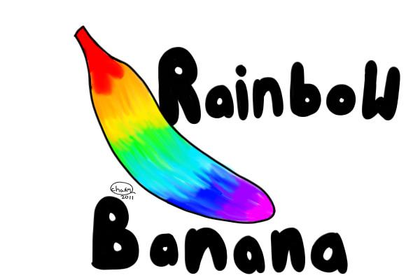 Banana clipart rainbow By Dr Banana Banana View