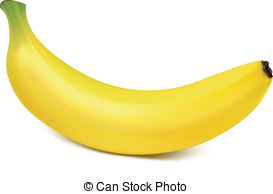 Banana clipart ripe Ripe Clip  isolated