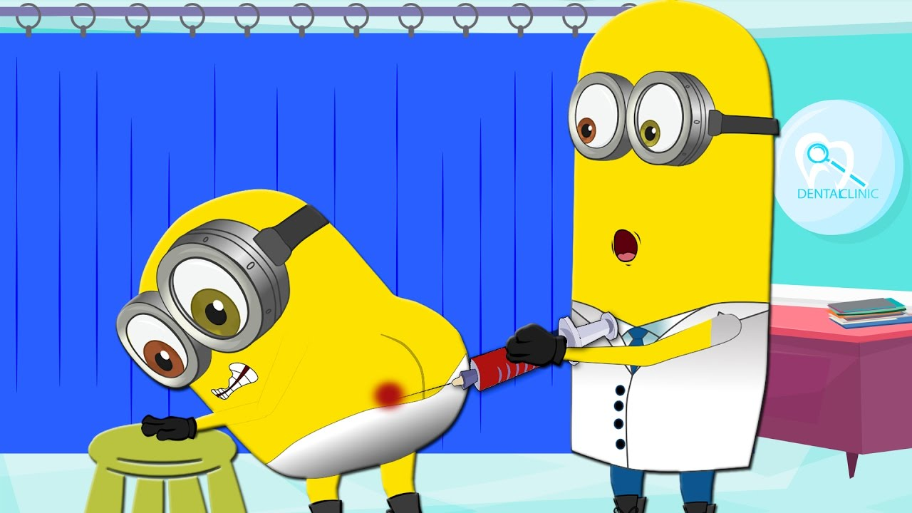 Banana clipart sick Doctor Banana ~ Syringe Minions
