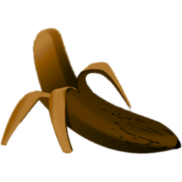 Banana clipart smooth Banana Rotton smooth Icon edges