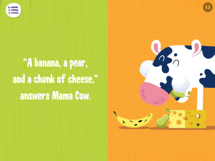 Banana clipart snacktime Snack Capstone Cow Snack For