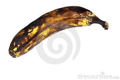 Banana clipart spoiled Clipart Rotten com Rotten Black