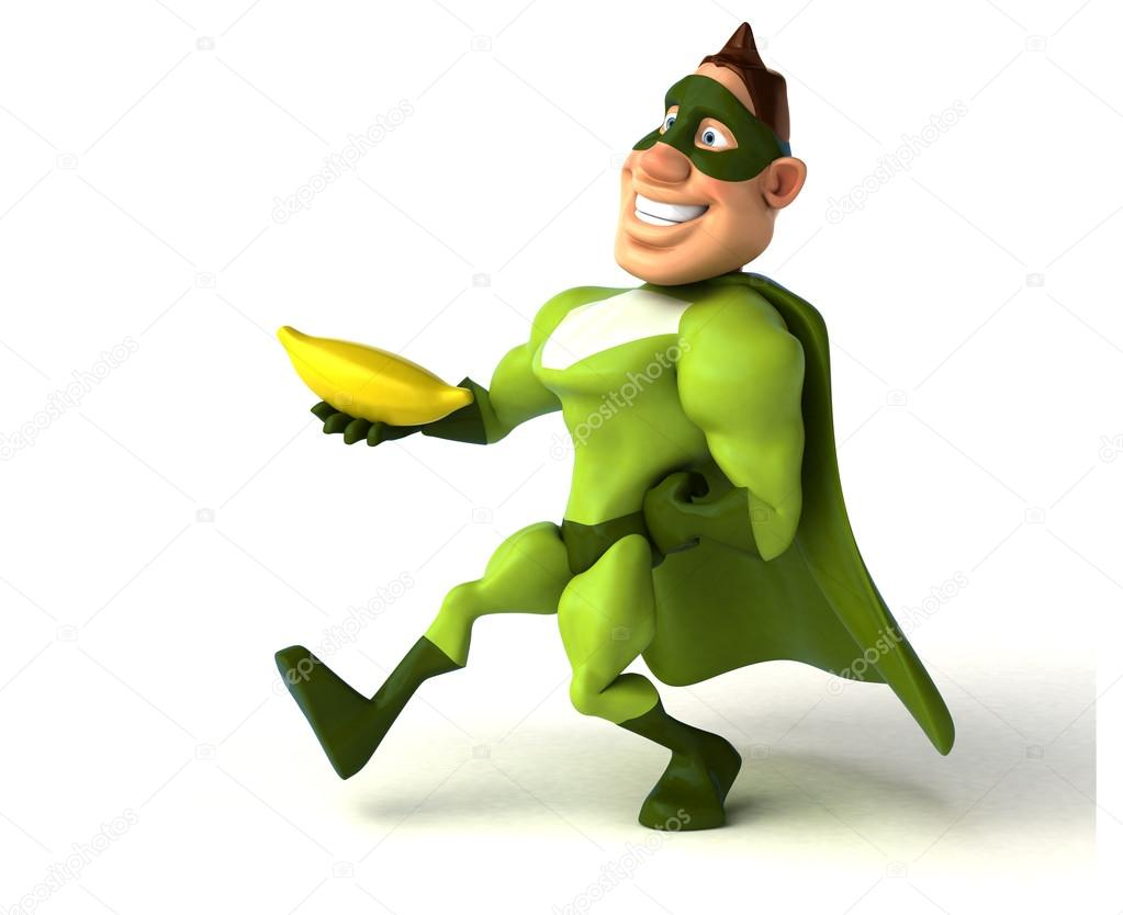 Banana clipart superhero Photo — — #125957166 julos
