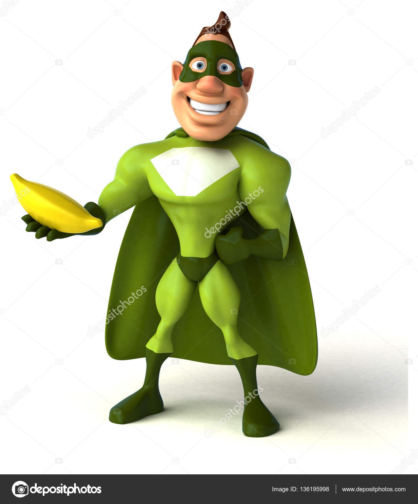 Banana clipart superhero Photo — — #136195998 julos