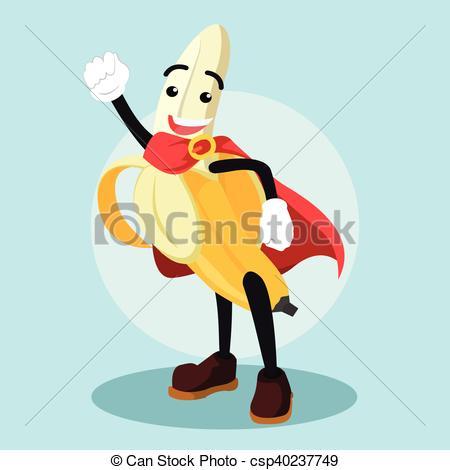 Banana clipart superhero Csp40237749 the the  Clip