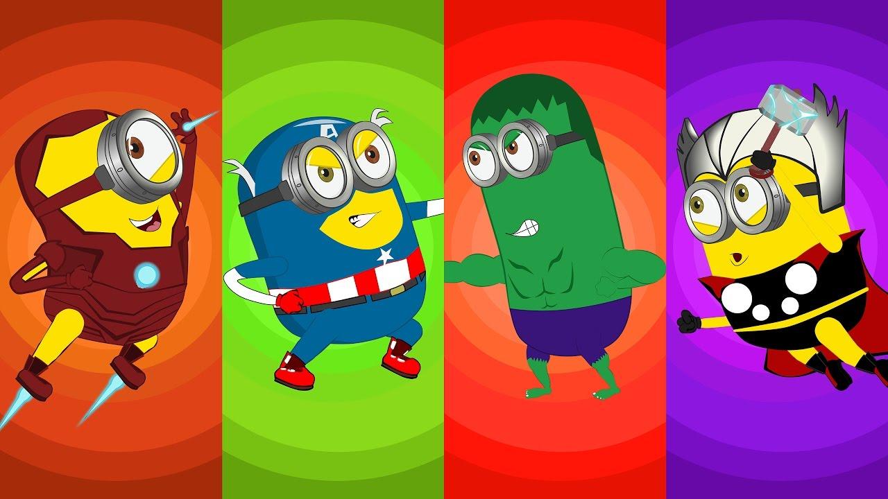 Banana clipart superhero  on ) Minions Full