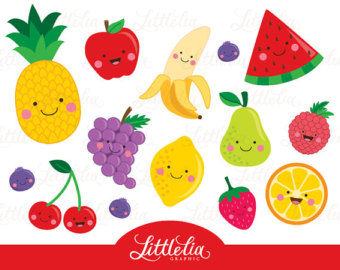 Salad clipart mixture Apple Grapes Clipart Watermelon art
