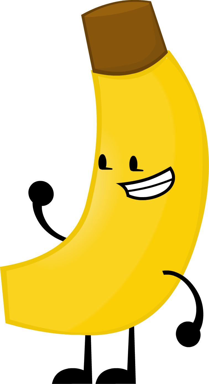 Banana clipart yellow object Png FANDOM Object Wiki Battle