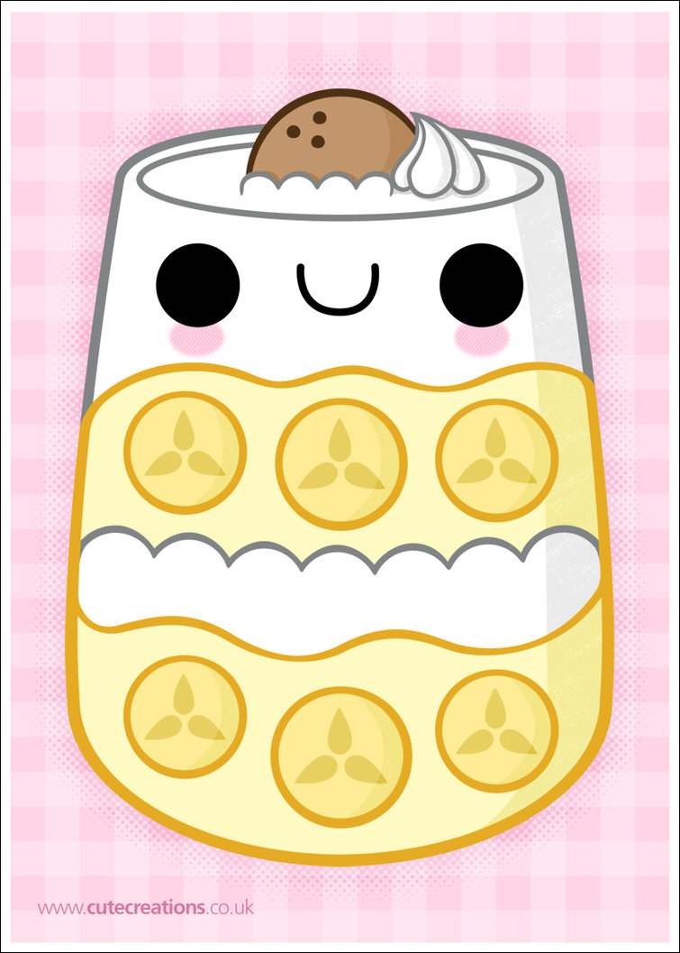 Banana Pudding clipart  Cute by Creations more