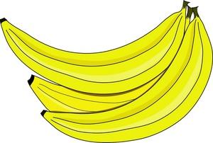 Banana clipart banana bunch Bunch bananas of Image Image: