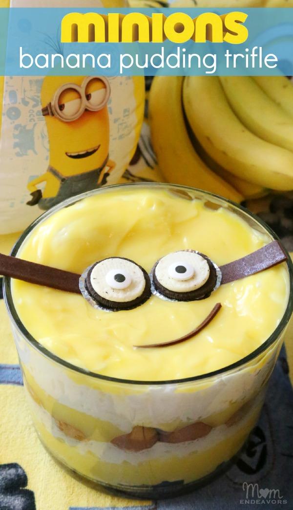Banana Pudding clipart banana fruit Minions Minions Pudding Ideas Party