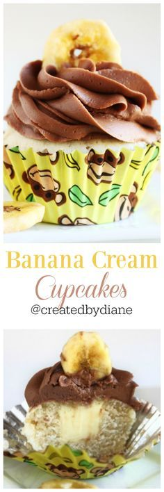 Banana Pudding clipart banana muffin Cupcakes Pinterest Banana Cream Chocolate