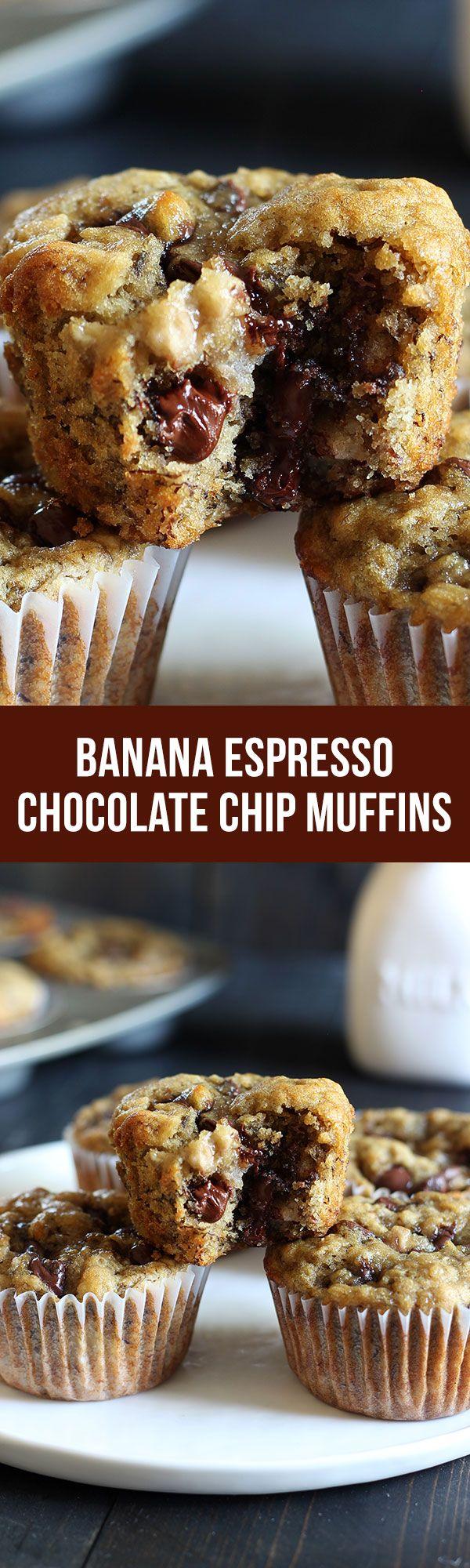 Banana Pudding clipart banana muffin Chocolate Banana Espresso Muffins Plantains