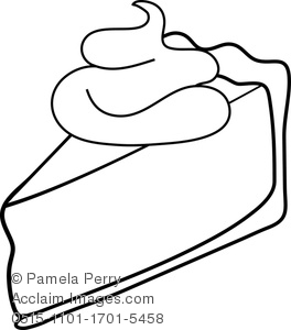 Banana Pudding clipart black and white Panda Clipart White Images Pie