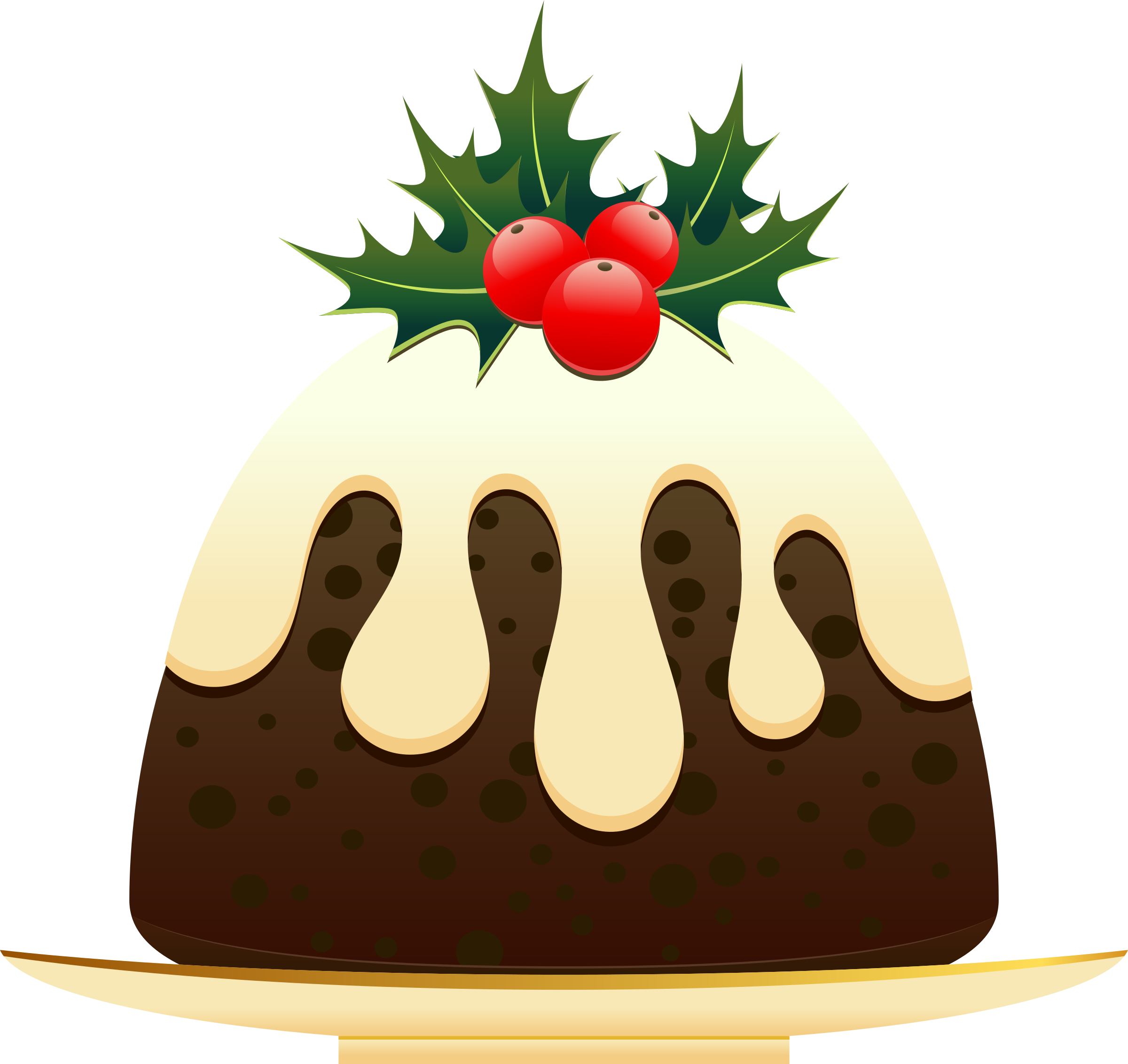 Banana Pudding clipart cartoon Pudding Zone Christmas Cliparts pictures