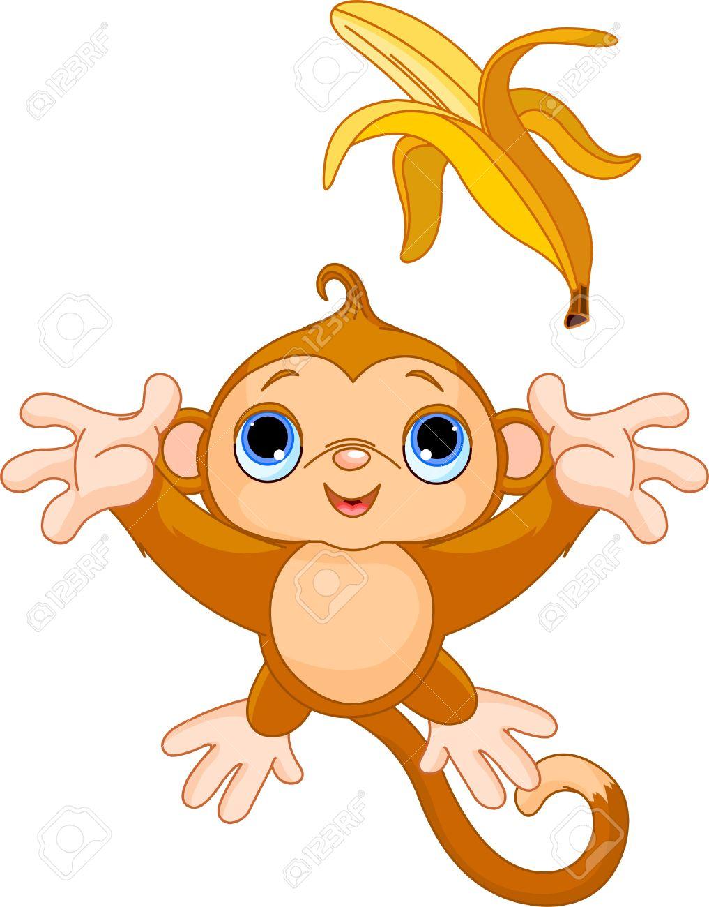 Banana Pudding clipart cartoon Banana Monkey Banana Clipart cliparts