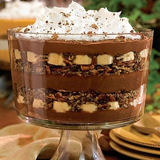 Banana Pudding clipart chocolate pudding  Chocolate Banana Recipe pudding