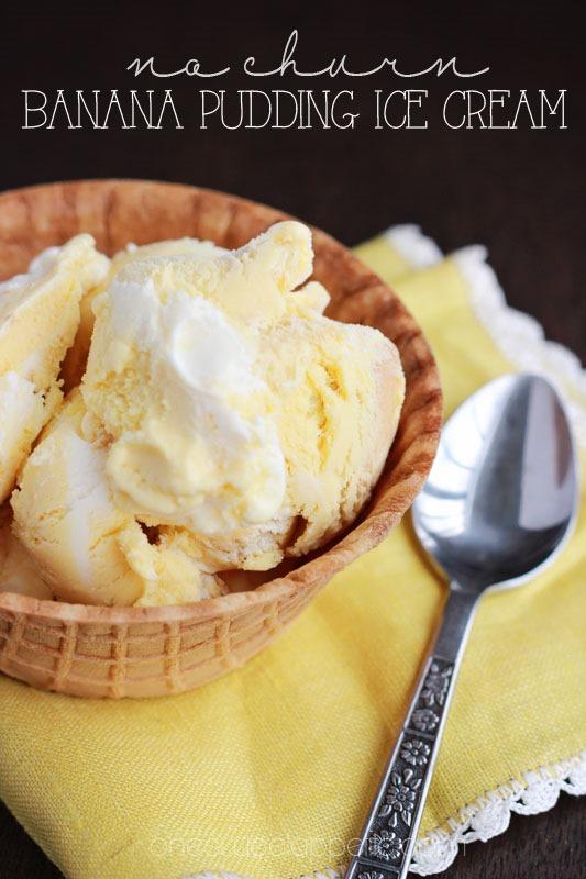 Banana Pudding clipart healthy Cream no churn pudding pudding