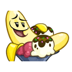 Banana Split clipart bananna Png vs Image Plants Wiki