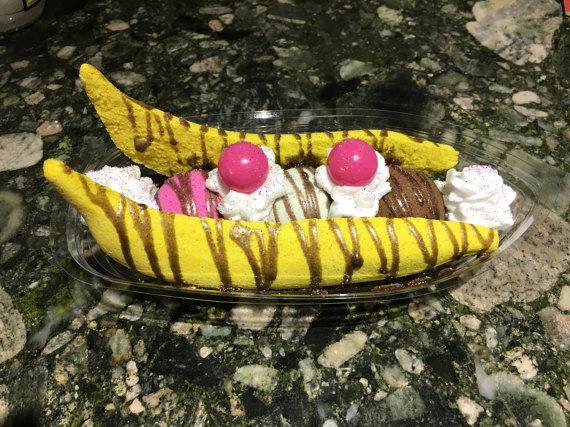 Banana Split clipart huge Split Bath Bath Big Banana