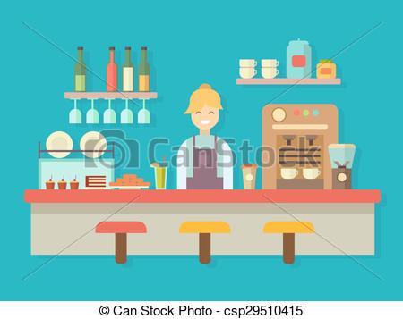 Bar clipart bar counter Alcohol machine counter of Bar