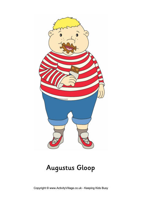 Bar clipart charlie and Factory Augustus Gloop and the