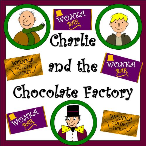 Bar clipart charlie and Materials Charlie Chocolate and Factory