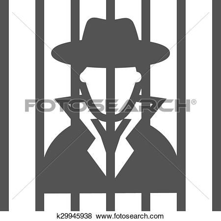 Bar clipart criminal Collection of Criminal Criminal Clip