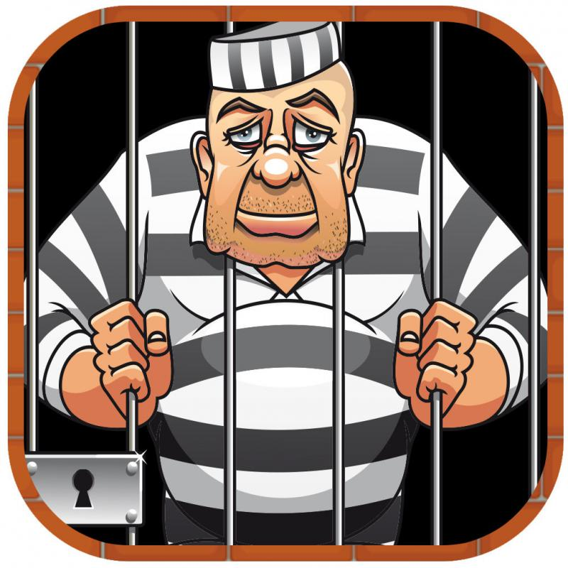 Bar clipart criminal Bars behind cartoon Criminal Criminal