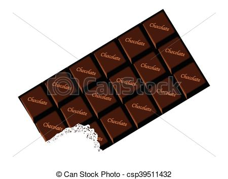 Bar clipart dark chocolate Dark Vectors bar Chocolate dark