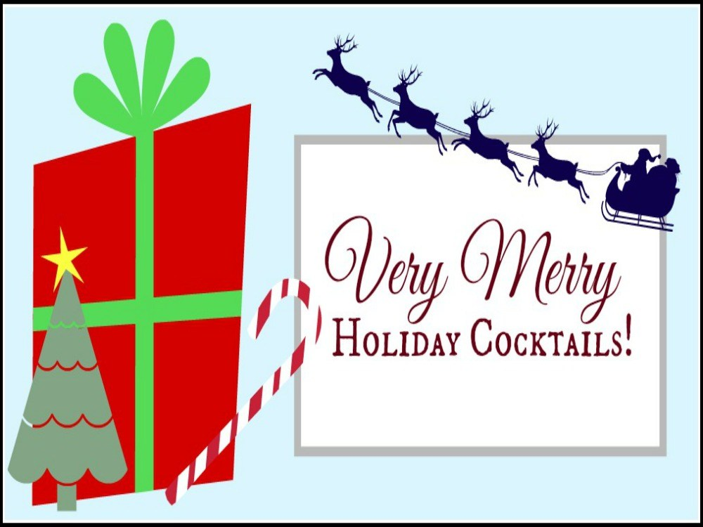 Bar clipart holiday cocktail Cocktails! Bar Holiday Hungry Very