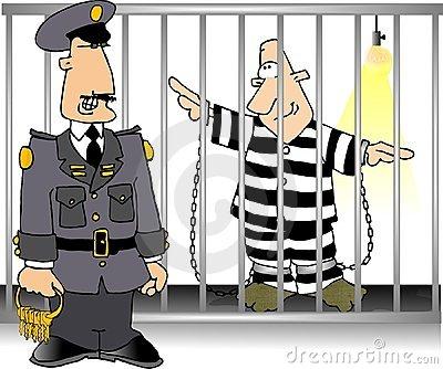 Bar clipart jailbird #4