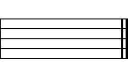 Bar clipart line Cliparts Bar Music Line Double