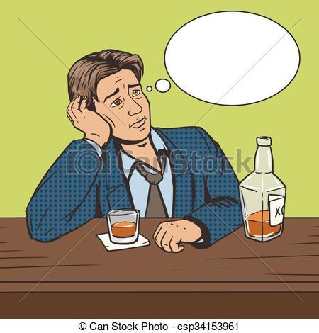Bar clipart man at Bar with Man art of