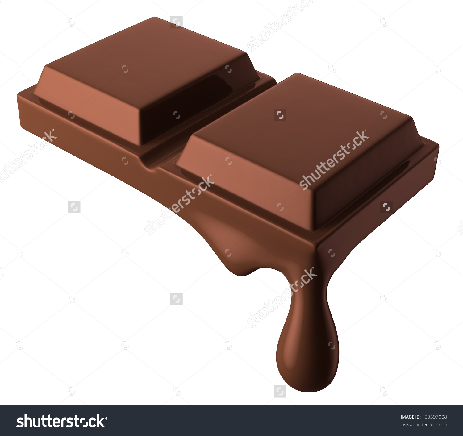Bar clipart sweet chocolate Clipart collection Melting chocolate bar