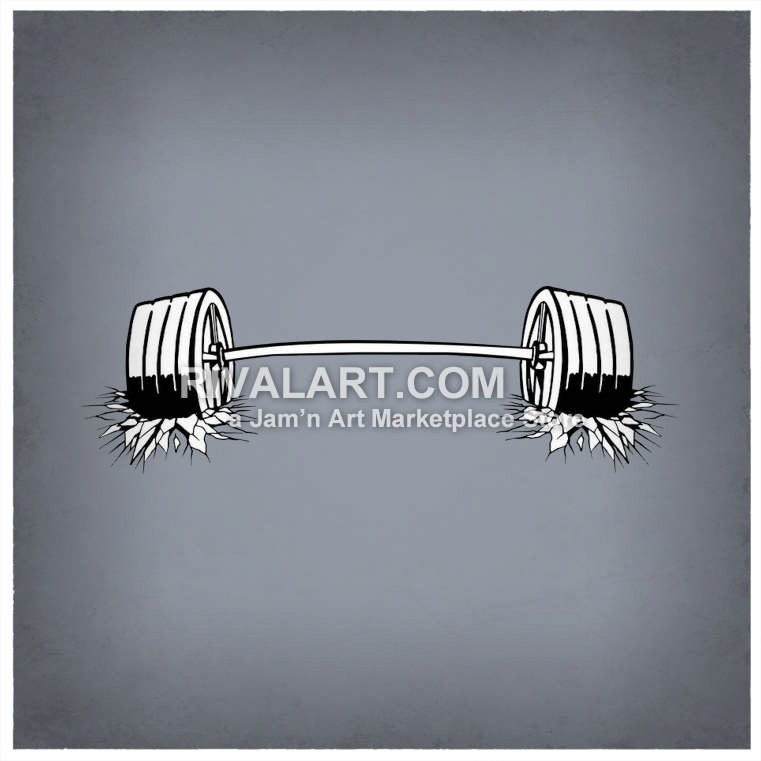 Bar clipart weight  Weightlifting Graphic Breaking Cool