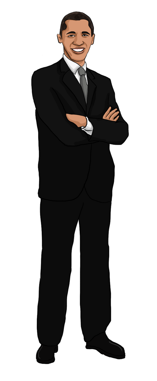 Barack Obama clipart The hold the American is