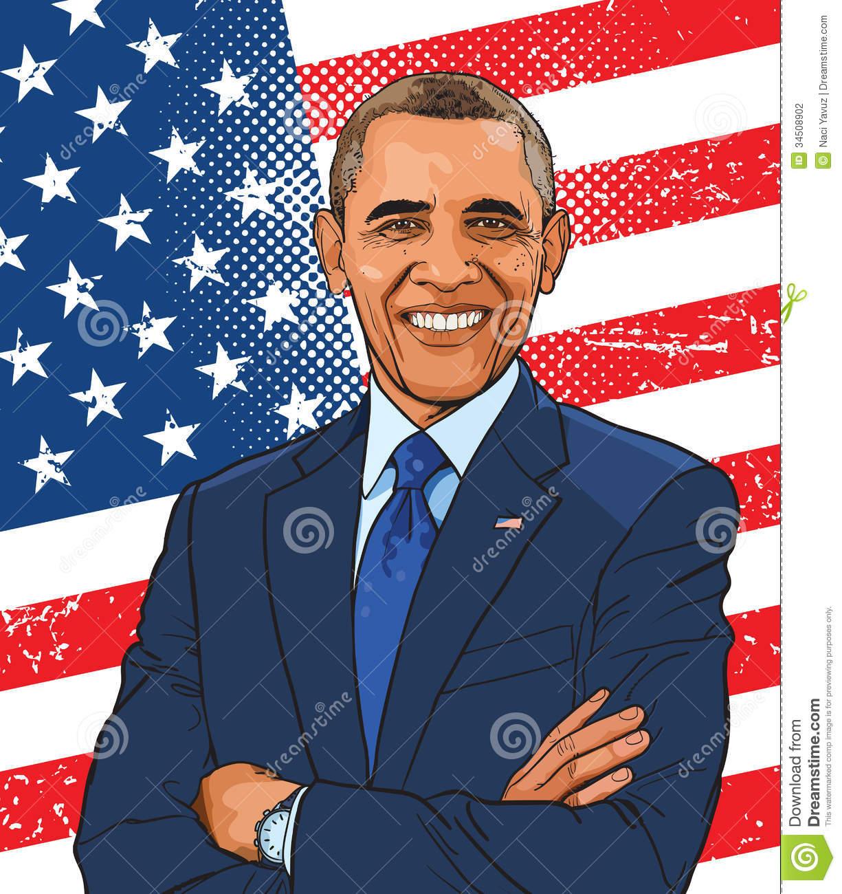 Barack Obama clipart Art Clipart  Clip clipart