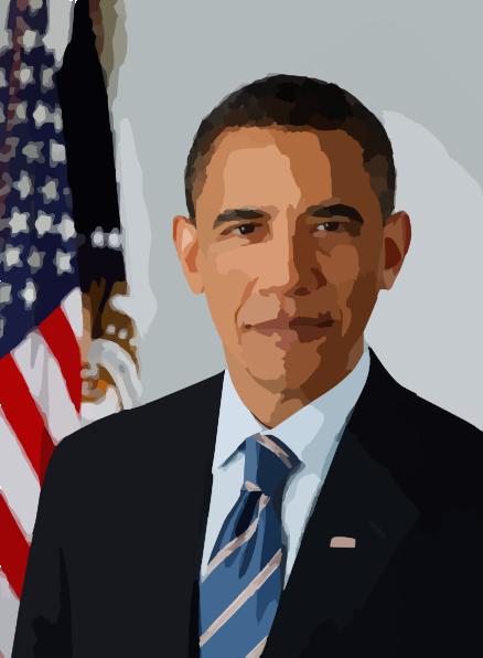 Barack Obama clipart As: Art online image clip