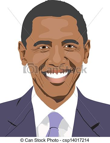 Barack Obama clipart Barack Barack drawing Free smile
