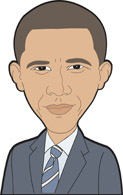 Barack Obama clipart Outline Search obama Search obama