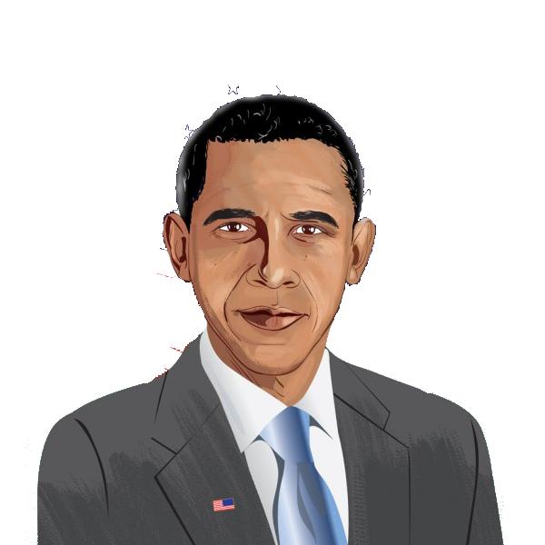 Barack Obama clipart Obama Barack Art 2 Clip
