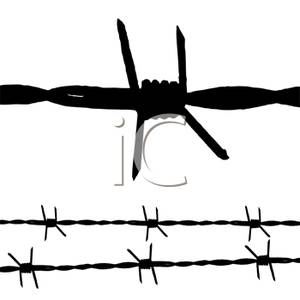 Barbed Wire clipart Barbwire Clipart Wire Panda Clipart